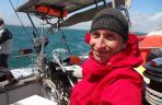 8 octobre - Départ de Jean pour une traversée de l'Atlantique un peu particulière