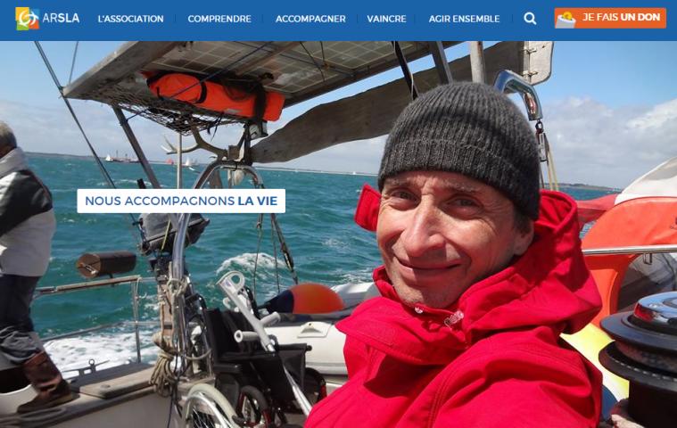 arsla image homepage du nouveau site internet - décembre 2015