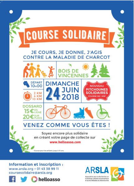 Course solidaire - ARSLA