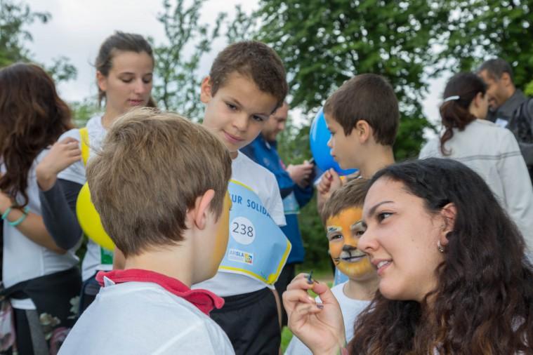 Première course solidaire contre la maladie de Charcot le 19 juin 2016 au Bois de Vincennes dans le cadre de la journée mondiale de lutte contre la Sclérose latérale Amyotrophique