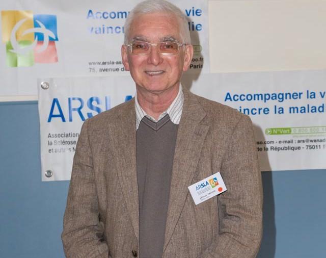 ARSLA 2015 - Rencontre annuelle des bénévoles de l'ARSLA du 31-01 et 01-02-2015 à Paris, Ici Jean-Claude Trotel