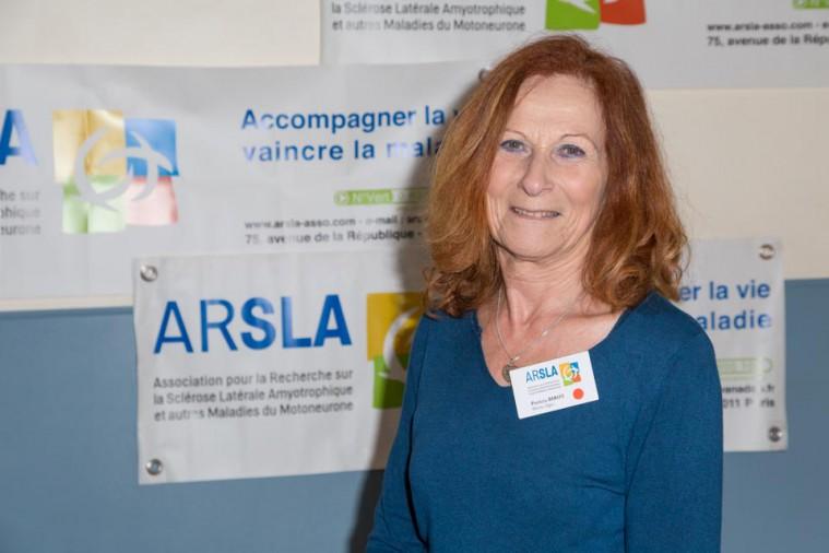 ARSLA 2015 - Rencontre annuelle des bénévoles de l'ARSLA du 31-01 et 01-02-2015 à Paris, Ici Patricia Birot