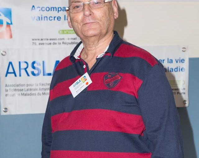 ARSLA 2015 - Rencontre annuelle des bénévoles de l'ARSLA du 31-01 et 01-02-2015 à Paris, Ici Maurice Birot