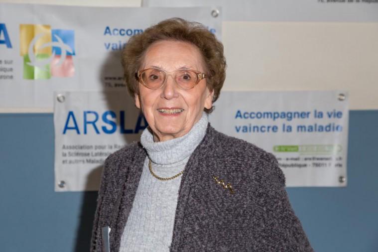 ARSLA 2015 - Rencontre annuelle des bénévoles de l'ARSLA du 31-01 et 01-02-2015 à Paris, Ici Nicole Cadot