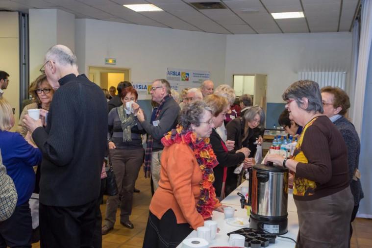 ARSLA 2015 - Rencontre annuelle des bénévoles de l'ARSLA du 31-01 et 01-02-2015 à Paris, Ici les bénévoles bénévoles