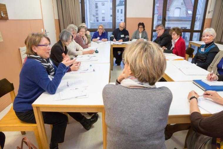 ARSLA 2015 - Rencontre annuelle des bénévoles de l'ARSLA du 31-01 et 01-02-2015 à Paris, Ici l'atelier