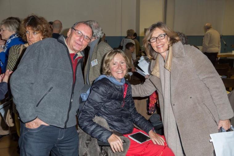 ARSLA 2015 - Rencontre annuelle des bénévoles de l'ARSLA du 31-01 et 01-02-2015 à Paris, Ici Lauren Petitjean et Elisabeth Coulanges