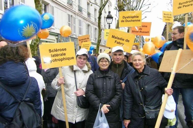 Des bénévoles de l'association ARSLA
