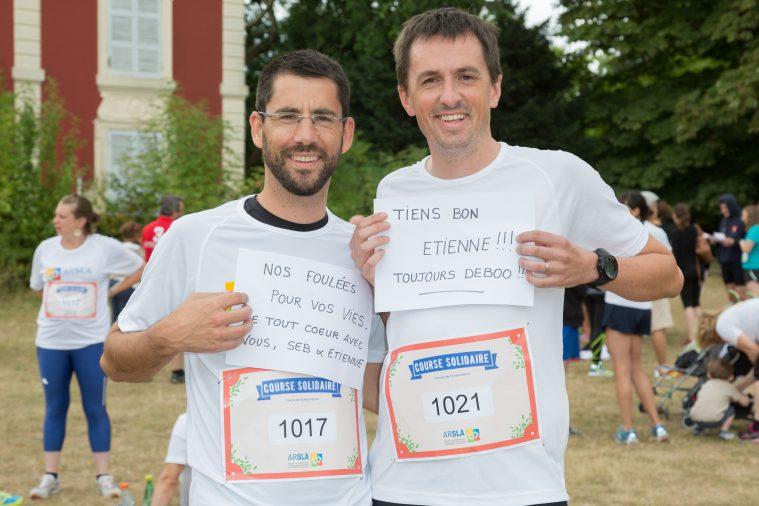 Deuxième course solidaire contre la maladie de Charcot le dimanche 25 juin 2017 au Bois de Vincennes.
