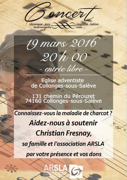 Concert à Collonges-sous-SalèveSa
