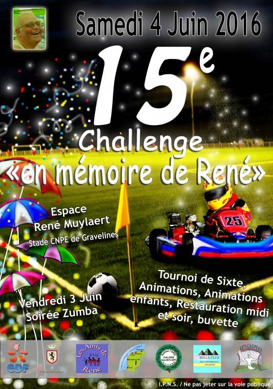 Challenge en mémoire de René décédé de la SLA au profit de l'ARSLA