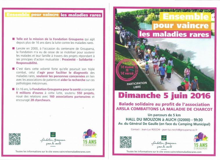 Groupama se mobilise contre la Maladie de Charcot