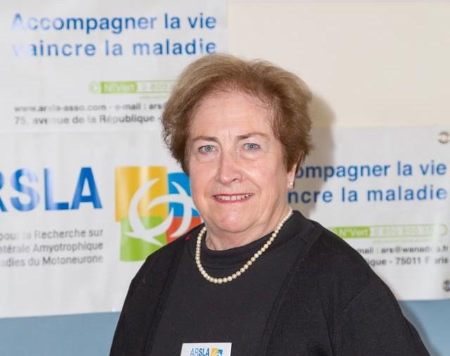 ARSLA 2015 - Rencontre annuelle des bénévoles de l'ARSLA du 31-01 et 01-02-2015 à Paris, Ici Nicole Hiolle