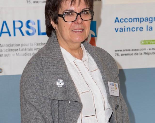 ARSLA 2015 - Rencontre annuelle des bénévoles de l'ARSLA du 31-01 et 01-02-2015 à Paris, Ici Maria Heitzmann