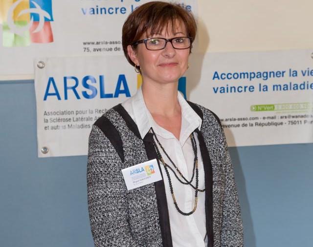 ARSLA 2015 - Rencontre annuelle des bénévoles de l'ARSLA du 31-01 et 01-02-2015 à Paris, Ici Magali Gauchet