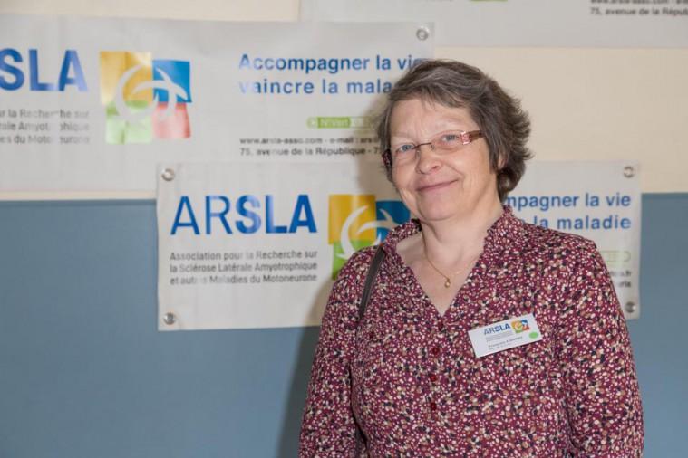 ARSLA 2015 - Rencontre annuelle des bénévoles de l'ARSLA du 31-01 et 01-02-2015 à Paris, Ici Françoise Canno