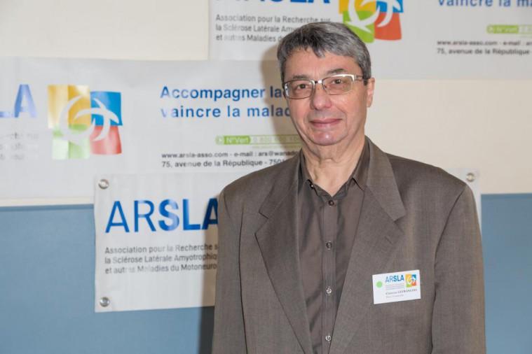 ARSLA 2015 - Rencontre annuelle des bénévoles de l'ARSLA du 31-01 et 01-02-2015 à Paris, Ici Christian Lefrancois