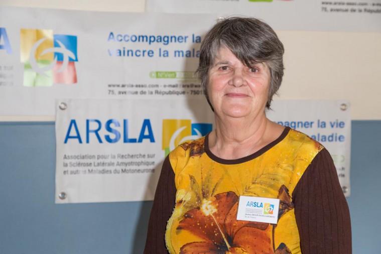 ARSLA 2015 - Rencontre annuelle des bénévoles de l'ARSLA du 31-01 et 01-02-2015 à Paris, Ici Andréa Delpuech-Laporte