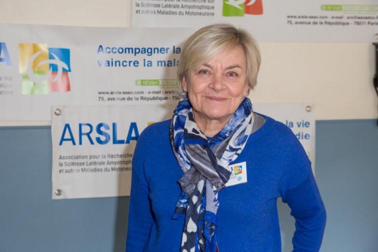 ARSLA 2015 - Rencontre annuelle des bénévoles de l'ARSLA du 31-01 et 01-02-2015 à Paris, Ici Monique Kleitz