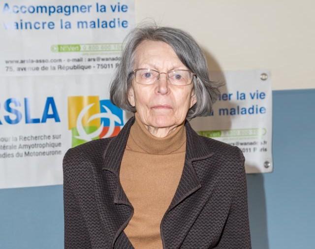 ARSLA 2015 - Rencontre annuelle des bénévoles de l'ARSLA du 31-01 et 01-02-2015 à Paris, Ici Claudette Daugy