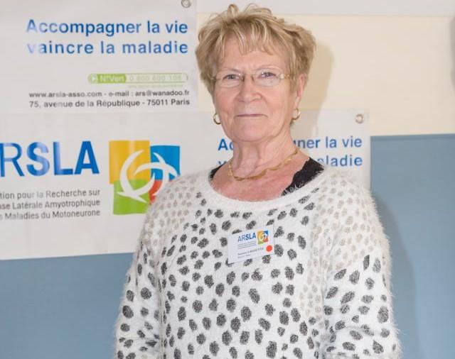 ARSLA 2015 - Rencontre annuelle des bénévoles de l'ARSLA du 31-01 et 01-02-2015 à Paris, Ici Simone Lagoutte