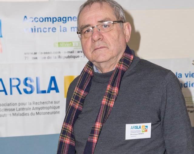 ARSLA 2015 - Rencontre annuelle des bénévoles de l'ARSLA du 31-01 et 01-02-2015 à Paris, Ici Dominique Robin