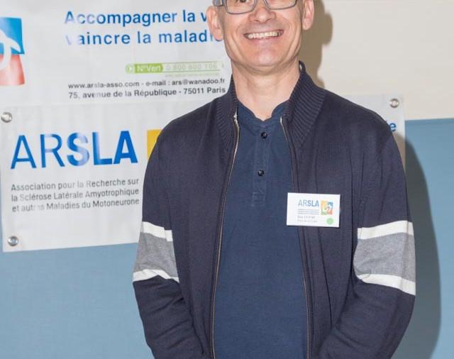 ARSLA 2015 - Rencontre annuelle des bénévoles de l'ARSLA du 31-01 et 01-02-2015 à Paris, Ici Guy Lucas