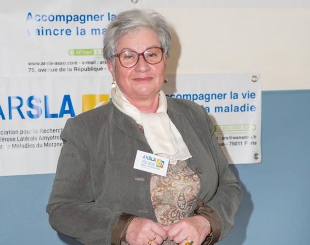 ARSLA 2015 - Rencontre annuelle des bénévoles de l'ARSLA du 31-01 et 01-02-2015 à Paris, Ici Régina Guglielmi