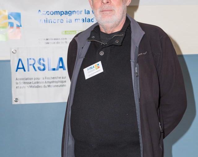 ARSLA 2015 - Rencontre annuelle des bénévoles de l'ARSLA du 31-01 et 01-02-2015 à Paris, Ici Alain Le Flochmoen