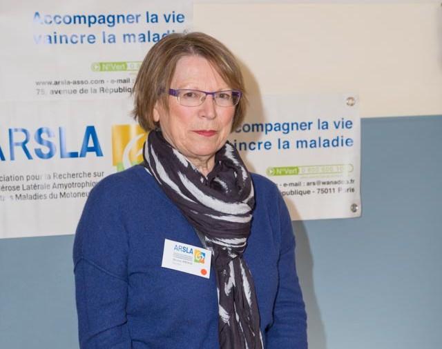 ARSLA 2015 - Rencontre annuelle des bénévoles de l'ARSLA du 31-01 et 01-02-2015 à Paris, Ici Denise Priem
