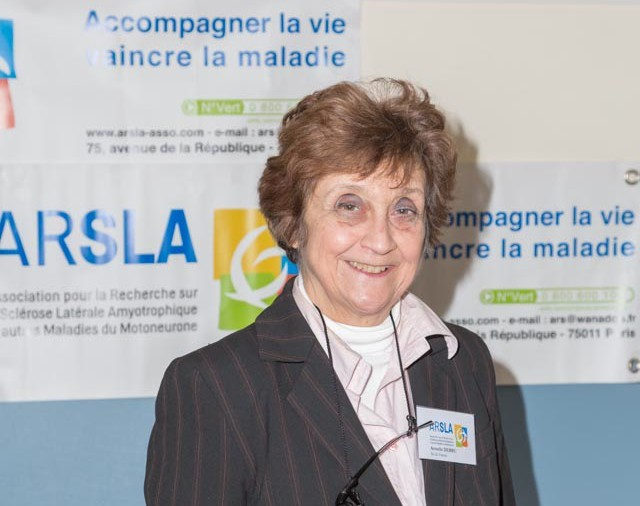 ARSLA 2015 - Rencontre annuelle des bénévoles de l'ARSLA du 31-01 et 01-02-2015 à Paris, Ici Armelle Debru