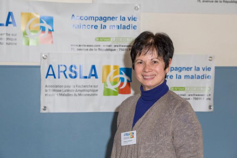 ARSLA 2015 - Rencontre annuelle des bénévoles de l'ARSLA du 31-01 et 01-02-2015 à Paris, Ici Madeleine Mariani