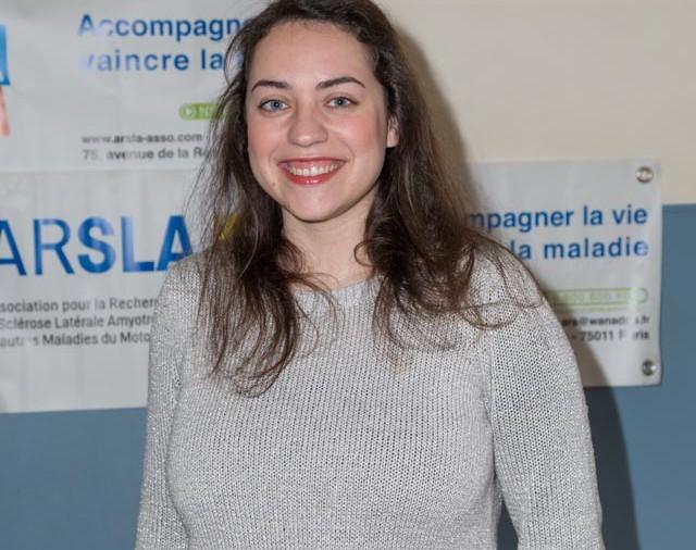 ARSLA 2015 - Rencontre annuelle des bénévoles de l'ARSLA du 31-01 et 01-02-2015 à Paris, Ici Eléonore Roux