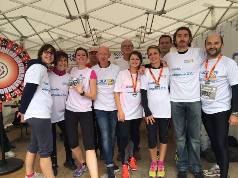 marathon au pofit de l'ARSLA