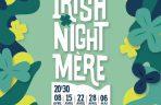 """Les sé""""ances de variété présentent : The Irish Night Mere. Les recettes de la séance du 8 avril seront intégralement reversées à l'ARSLA"""