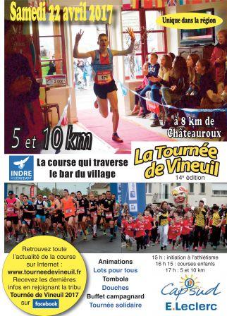 Visuel de la course tournée de Vineuil - 22 avril au profit de l'ARSLA