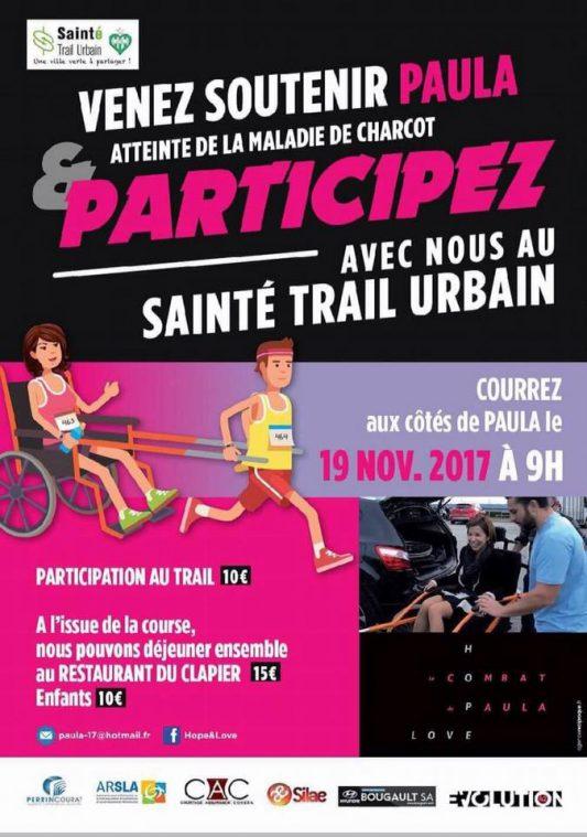 Affiche événement Trail Paula