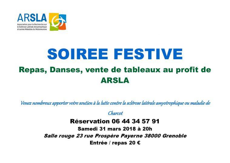 Soirée festive Grenoble