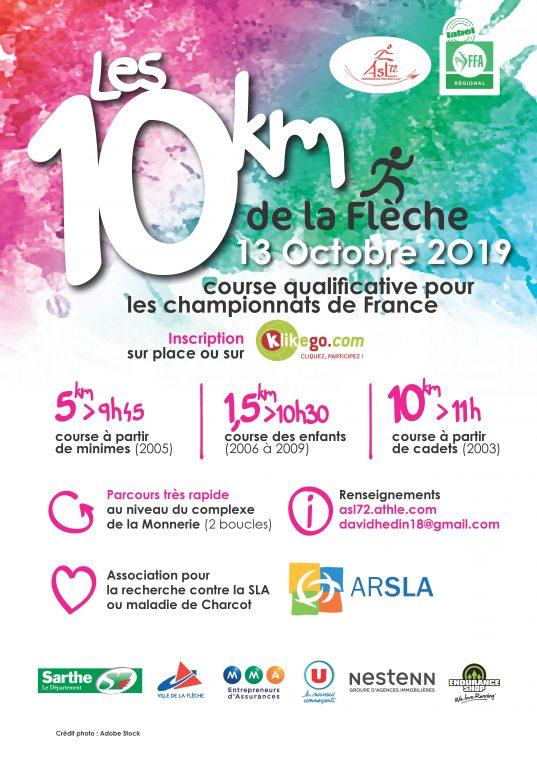 10KMlafleche-2019 ARSLA