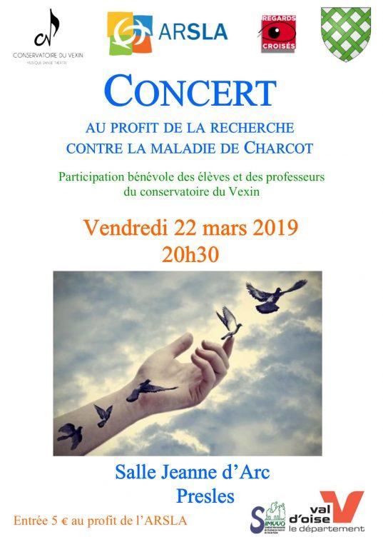 Concert ARSLA MAladie de charcot