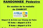 Randonnée pédestre ARSLA - Maladie de Charcot