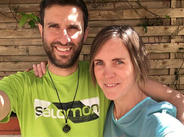 Katia et Franck participent au défi de la Rhune - ARSLA maladie de Charcot