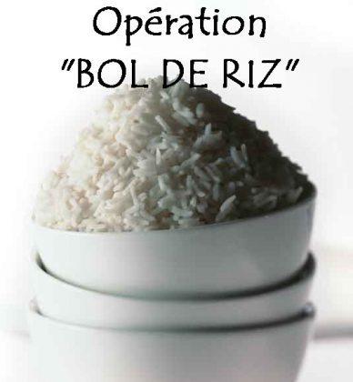 Opération bol de riz - ARSLA maladie de Charcot