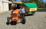 John Elliott en tracteur contre la SLA - ARSLA Maladie de Charcot