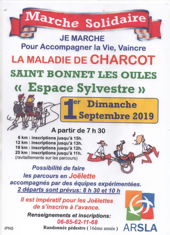 Marche solidaire - ARSLA Maladie de Charcot
