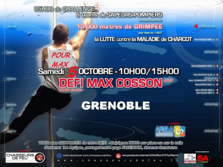 Défi Max Cosson - ARSLA Maladie de Charcot