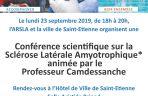 Conférence scientifique - ARSLA maladie de charcot
