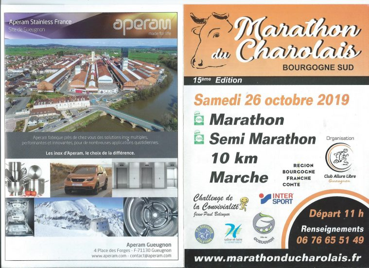 Marathon du Charolais - ARSLA Maladie de Charcot