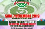 Charcot- Maladie de Charcot - Affiche rugby solidaire