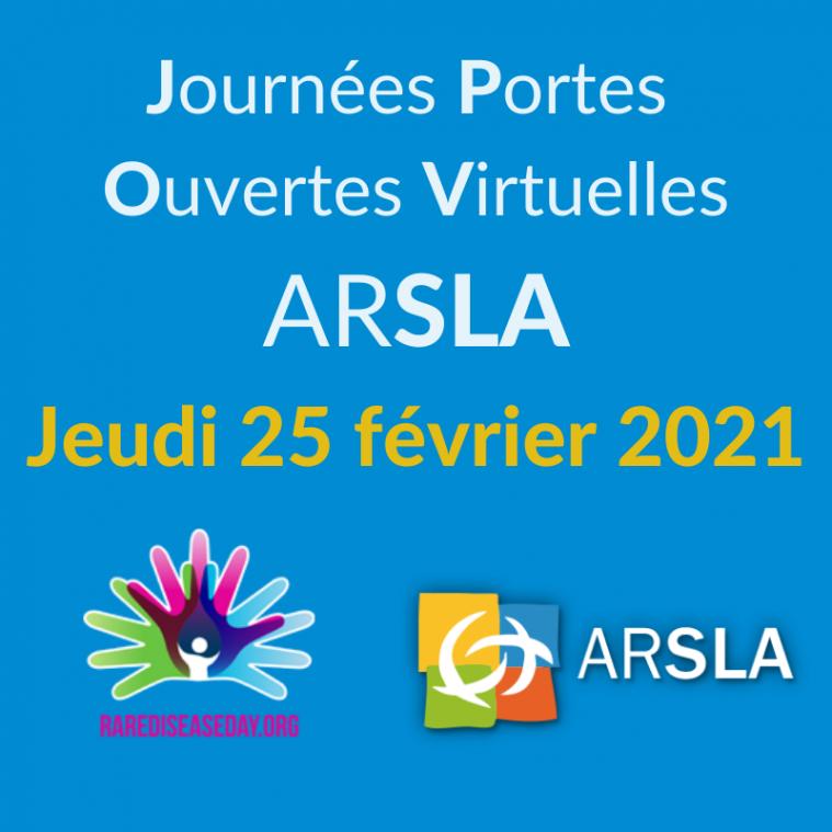 JPOV ARSLA - ARSLA MALADIE DE CHARCOT